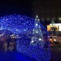JR長岡京駅前クリスマスイルミネーション