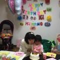 日奈乃2歳誕生日