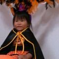 日奈乃2歳ハロウィン