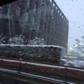 長岡京市雪景色