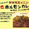 焼きホルモンカレー(ヴァスコ・ダ・ガマ)